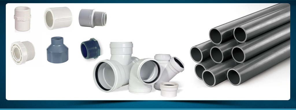 Ashoke cement hardware pvc pipe fittings in kolkata for Types of plastic pipes